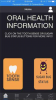 Fig 3. Home Screen: Oral Health Information